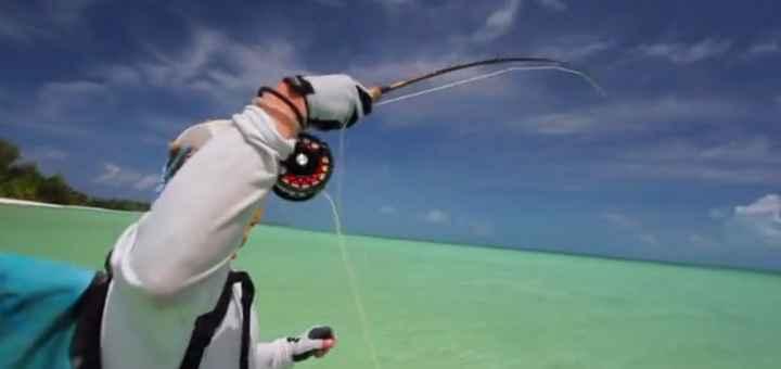 La pêche sur la ligne à lenoblasti à lest