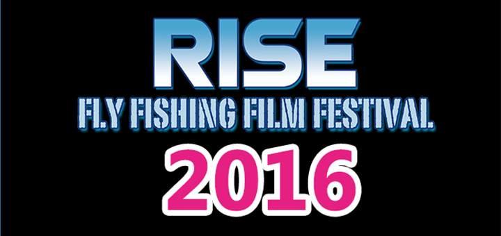Logo de RISE 2016 - festival de films de pêche à la mouche