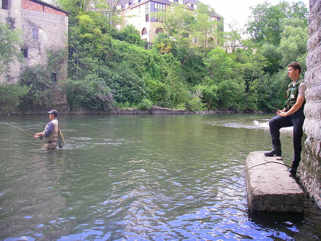 Les tours sur bajkal la pêche dhiver