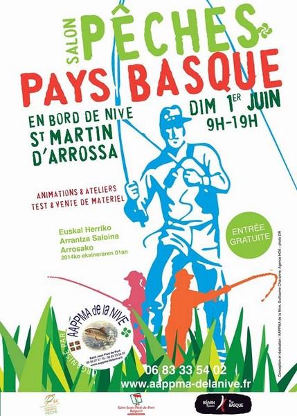 Salon p che la mouche au pays basque c 39 est dimanche 01 juin arrossa - Salon de la peche a la mouche ...